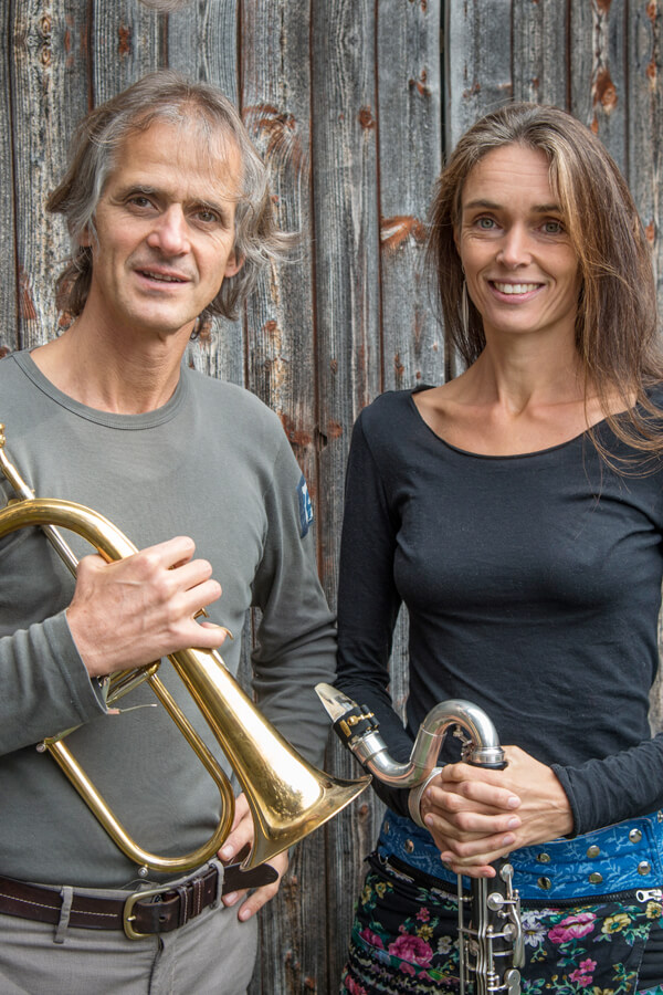 Moving Sounds - Markus Stockhausen & Tara Bouman